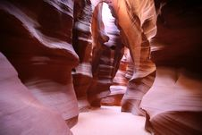 Canyon Of Antelope Stock Photography