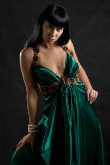 Free Woman Dancer Portrait Stock Photography - 9004832