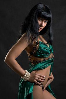 Free Woman Dancer Portrait Stock Photography - 9004842