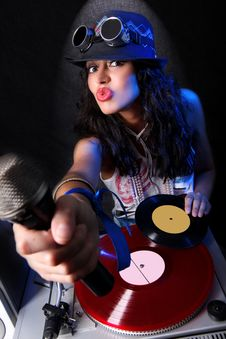 Free DJ In Action Stock Images - 9004854