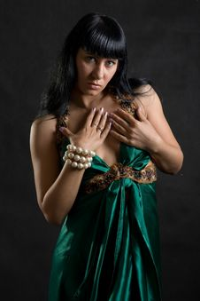 Free Woman Dancer Portrait Royalty Free Stock Image - 9004866