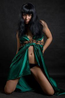 Free Woman Dancer Portrait Stock Photography - 9004882