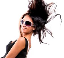 Free Beautiful Young Brunette Model Royalty Free Stock Photography - 9005477