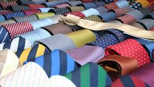 Free Colorful  Ties Royalty Free Stock Image - 9005516