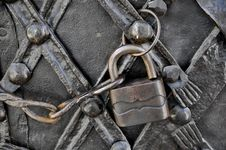 Free Old Padlock Royalty Free Stock Photography - 9006387
