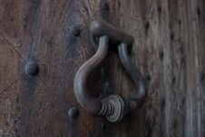 Free Wood Door Royalty Free Stock Photo - 9008225
