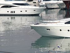 Croatia Boat Show Royalty Free Stock Photos