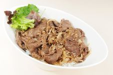 Free Beef Rice Royalty Free Stock Images - 9008739
