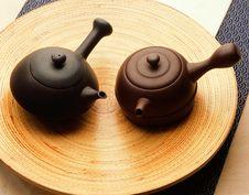 Free Kung Fu Tea Set Royalty Free Stock Images - 9009379