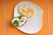 Egg Heart Stock Image