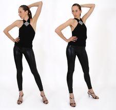Free Woman Pose Stock Image - 9009841