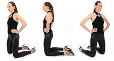 Free Kneeling Women Stock Images - 9009914