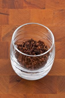 Free Clove In Glass Stock Photography - 9009942