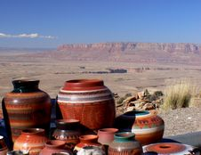 Free Navajo Pottery. Royalty Free Stock Image - 90032286