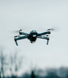 Free Drone Flying Against Sky Stock Photos - 90037433