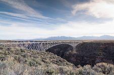 Free Rio Grande Gorge Bridge Stock Images - 90097194
