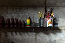 Free Tool Shelf Stock Photography - 90097242