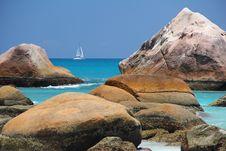 Free Coast, Rock, Coastal And Oceanic Landforms, Sea Stock Images - 90099284