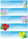 Free Spring Banners. Stock Photography - 9011232