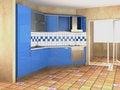 Free Modern Kitchen Stock Photography - 9012162