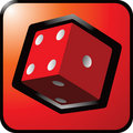 Free Red Dice Button Stock Photos - 9014123