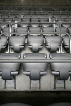 Free Seat Rows Royalty Free Stock Image - 9010826