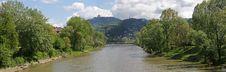 Turin Panorama & Po 1 Royalty Free Stock Photos