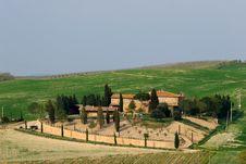 Free Tuscany Landscape Royalty Free Stock Image - 9012046