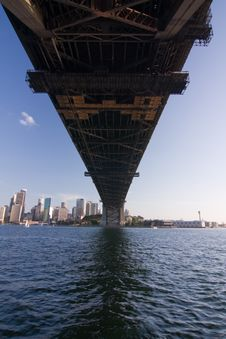 Harbour Bridge Stock Photography