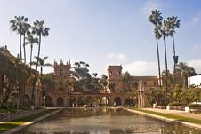 Balboa Park Architecture Royalty Free Stock Photography