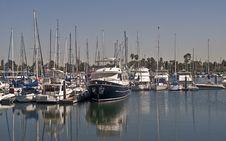 Free Coronado Yacht Harbor Stock Photo - 9012850