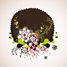 Free Abstract Flora Wallpaper Royalty Free Stock Photography - 9013437