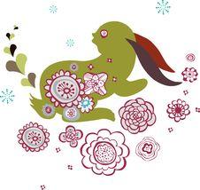 Free Bunny Design Royalty Free Stock Photos - 9013498