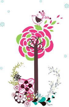 Free Tree Design Royalty Free Stock Photos - 9013548