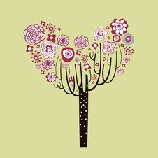Free Lovely Tree Design Stock Images - 9014144