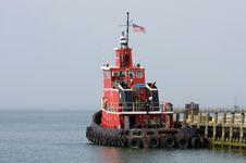Free Tug Boat Stock Image - 9014161