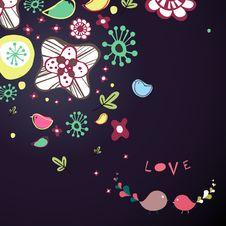 Free Garden Bird Design Stock Image - 9014601