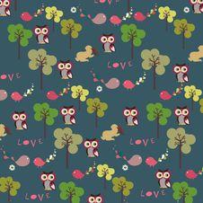 Free Garden Bird Design Royalty Free Stock Image - 9014796