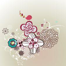 Free Garden Bird Design Stock Image - 9015221