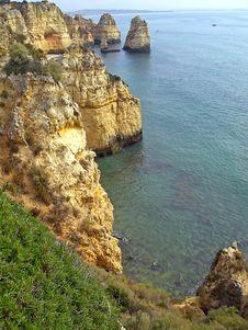 Free Coastline Of Atlantic Ocean - Vertical Stock Photography - 9015252