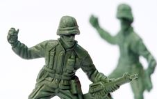 Free Toy Soldier Stock Photography - 9016472
