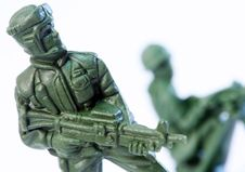 Free Toy Soldier Royalty Free Stock Photography - 9016577