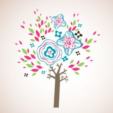 Free Lovely Tree Design Royalty Free Stock Photos - 9016938