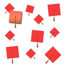 Free Graduation Hat Scrapbook Stock Photos - 9017183