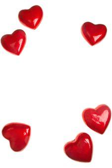 Free Hearts Royalty Free Stock Photography - 9019577