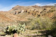 Free Desert Scenery Royalty Free Stock Photos - 9019718
