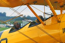 Free Yellow, Airplane, Aircraft, Aviation Stock Photo - 90102400
