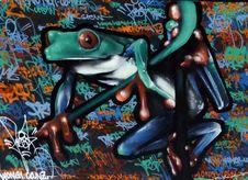 Free Frog.. Royalty Free Stock Photos - 90153448