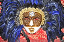 Free Venezian Carnival Mask Venice Italy - Creative Commons By Gnuckx Stock Image - 90153811