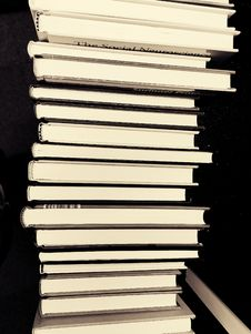 Free Stack Of Books Royalty Free Stock Photo - 90154915